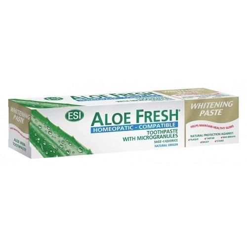ESI zubná pasta AloeFresh Homeopatic 100ml + kefka zdarma