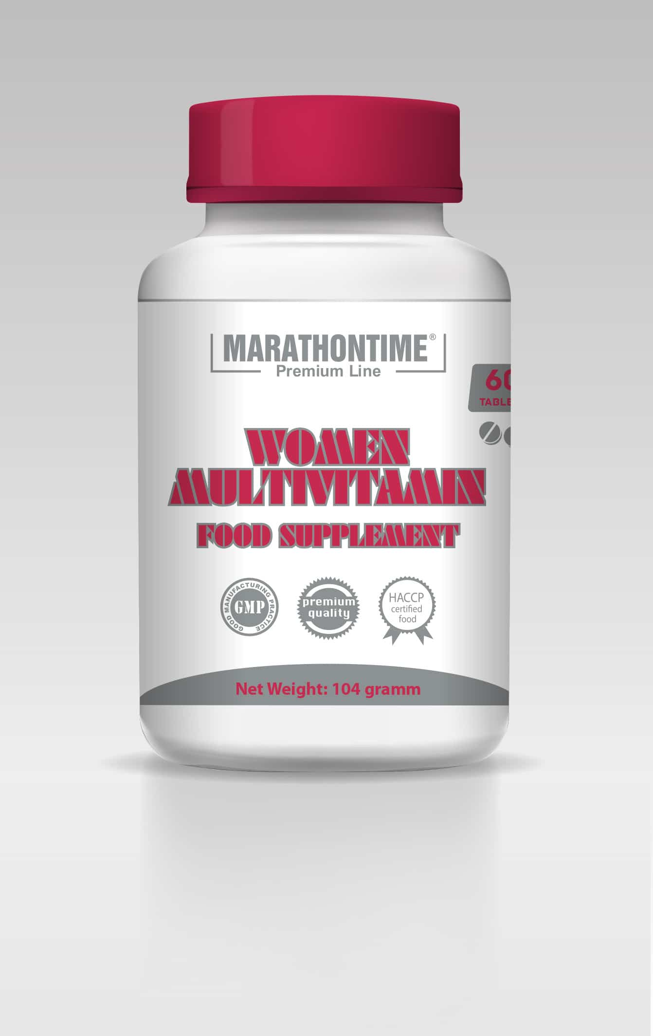 Marathontime WOMEN Multivitamin 60 tbl