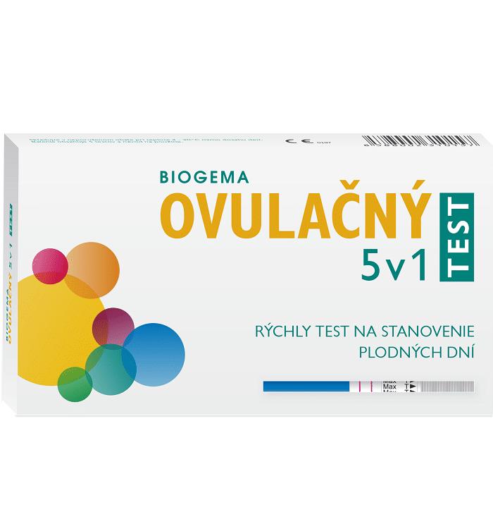 Biogema Test ovulačný 5v1